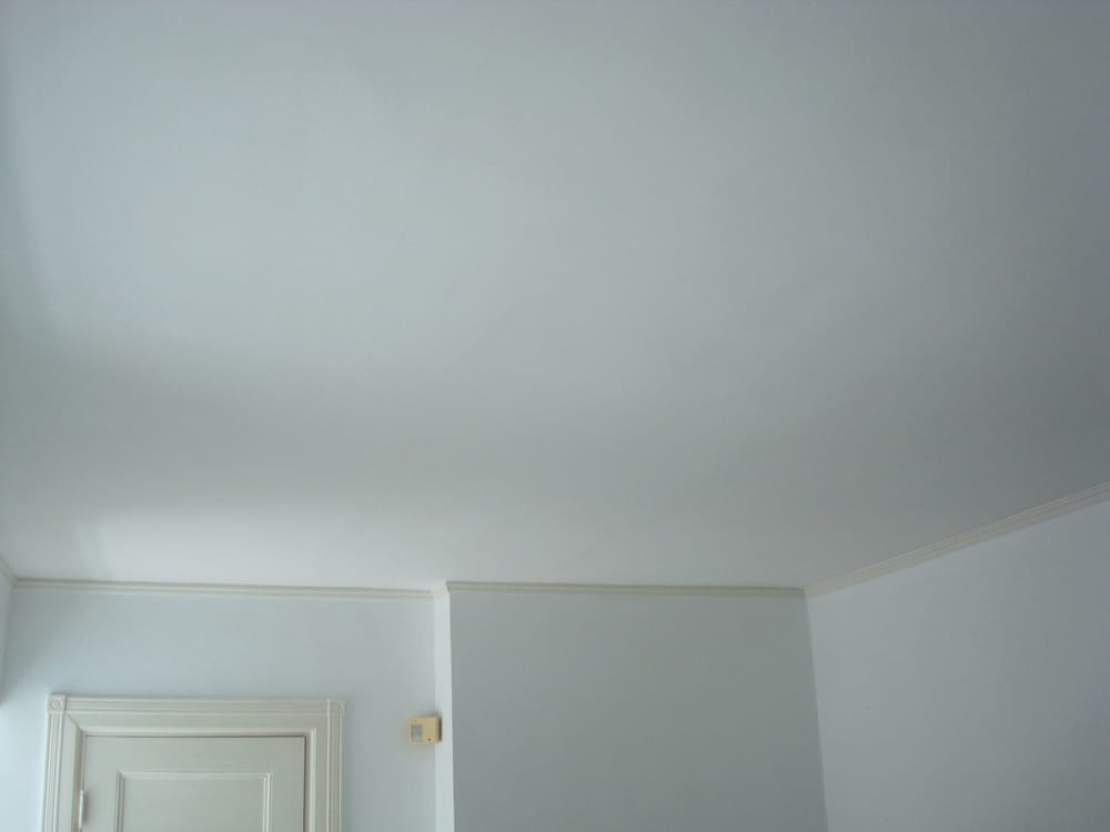 Ceiling After Prep Work Is Performed With One Coat Of Kilz