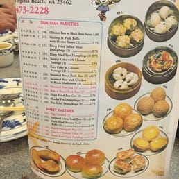 Photo Of Jade Villa Virginia Beach Va United States Dim Sum Menu