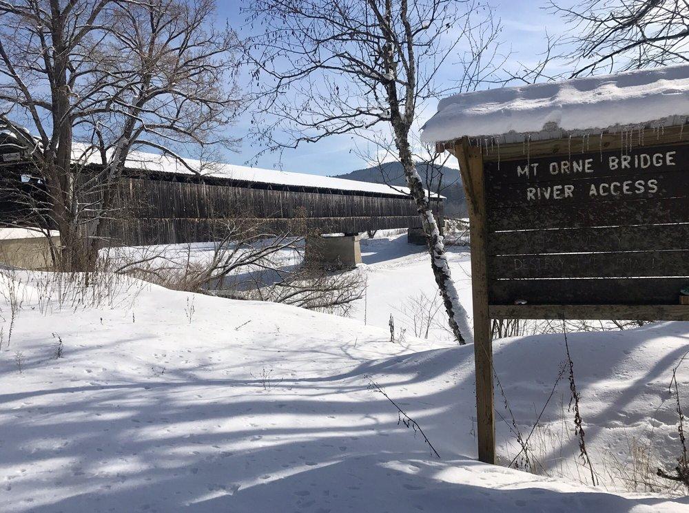 Mt. Orne Covered Bridge: Elm St, Lancaster, NH