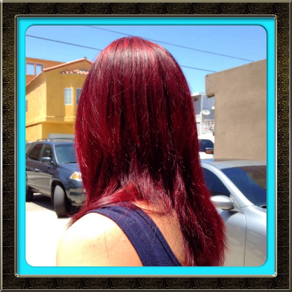 Photo Of Studio 37 Salon Huntington Beach Ca United States Cherry Cola
