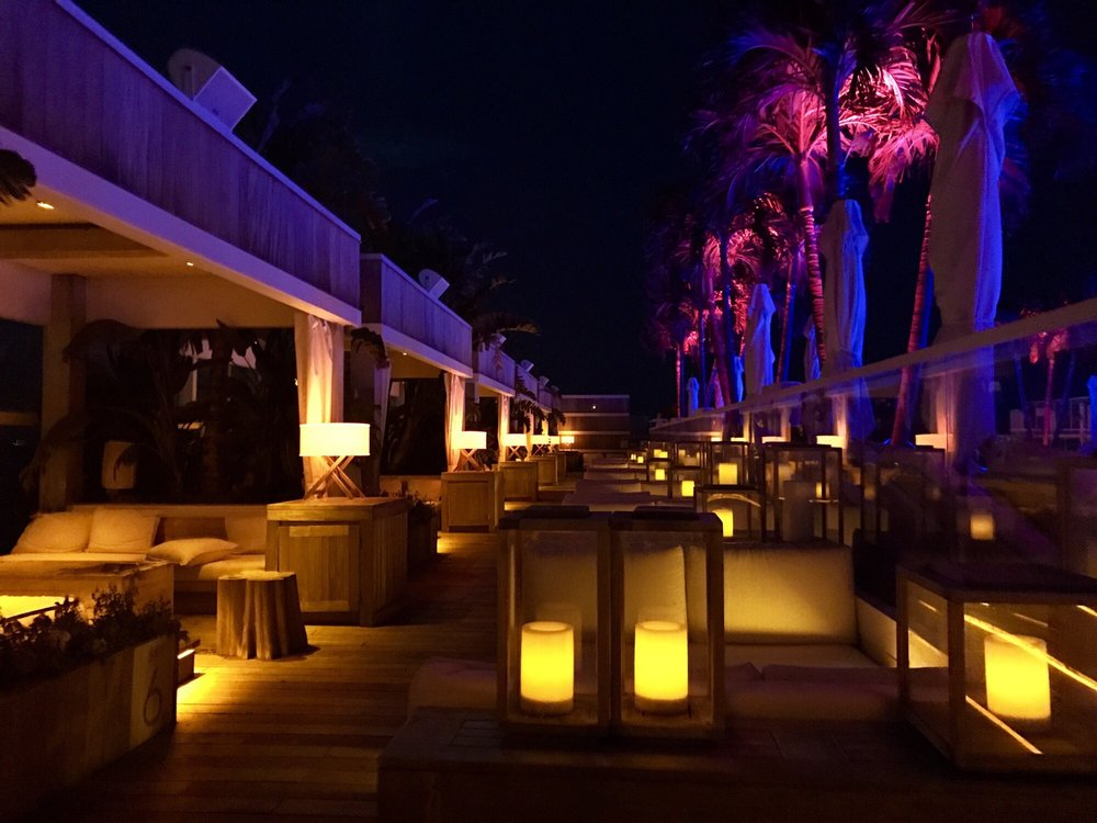 Rooftop Bar at 1 Hotel: 2341 Collins Ave, Miami Beach, FL