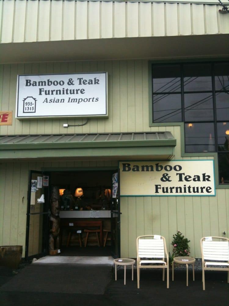 bamboo teak furniture furniture stores 180 makaala st hilo hi phone number yelp