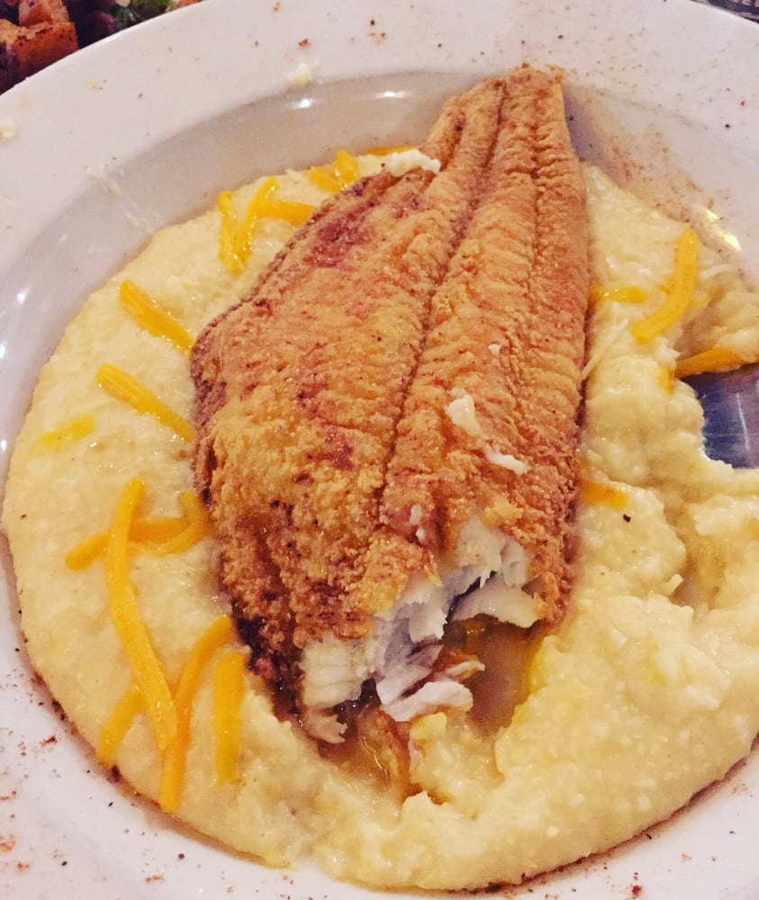 Fish and grits at old town inn yelp for Fish and grits near me
