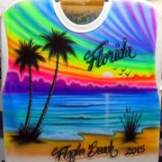 92a3124c Special Owl Photo of Vic's Airbrushing Shop - Flagler Beach, FL, United  States. Airbrushed Beach ...