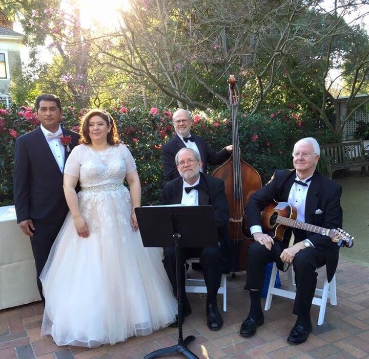 Wedding Jazz Bands: At The Wedding!