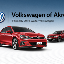 Dave Walter VW >> Volkswagen Of Akron Car Dealers 447 W Exchange St Akron