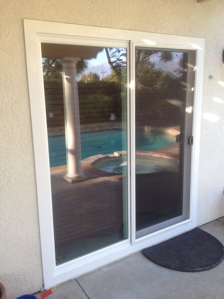 Atlas Vinyl Retro Fit Sliding Glass Door Yelp