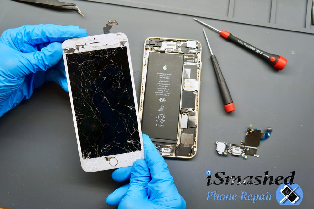 iSmashed Phone Repair: 1 Campus Dr, Allendale Charter Township, MI