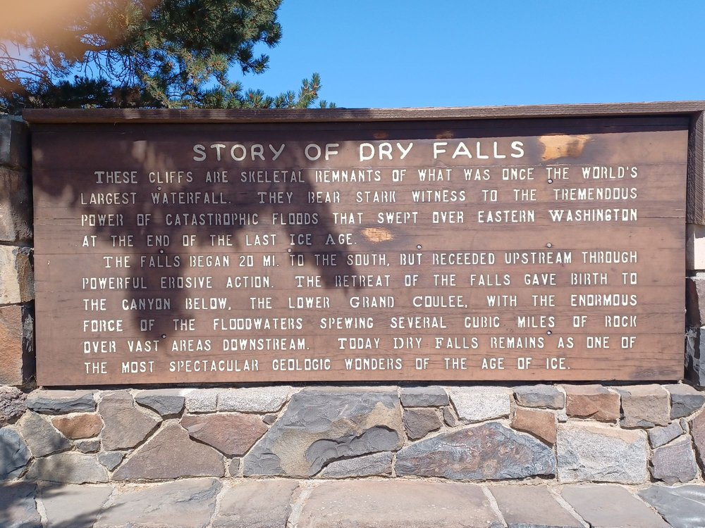 Dry Falls: State Park Rd, Winlock, WA