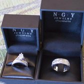Photo of NGY Jewelry - Orange, CA, United States. Custom engagement ring and wedding band custom design