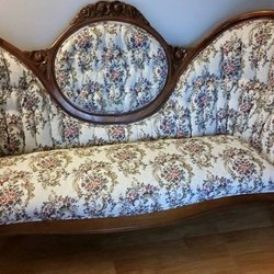 Photo Of Miro Upholstery   Holliston, MA, United States. Antique Love Seat