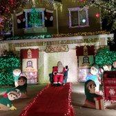 photo of santa clarita neighborhood christmas light displays santa clarita ca united states