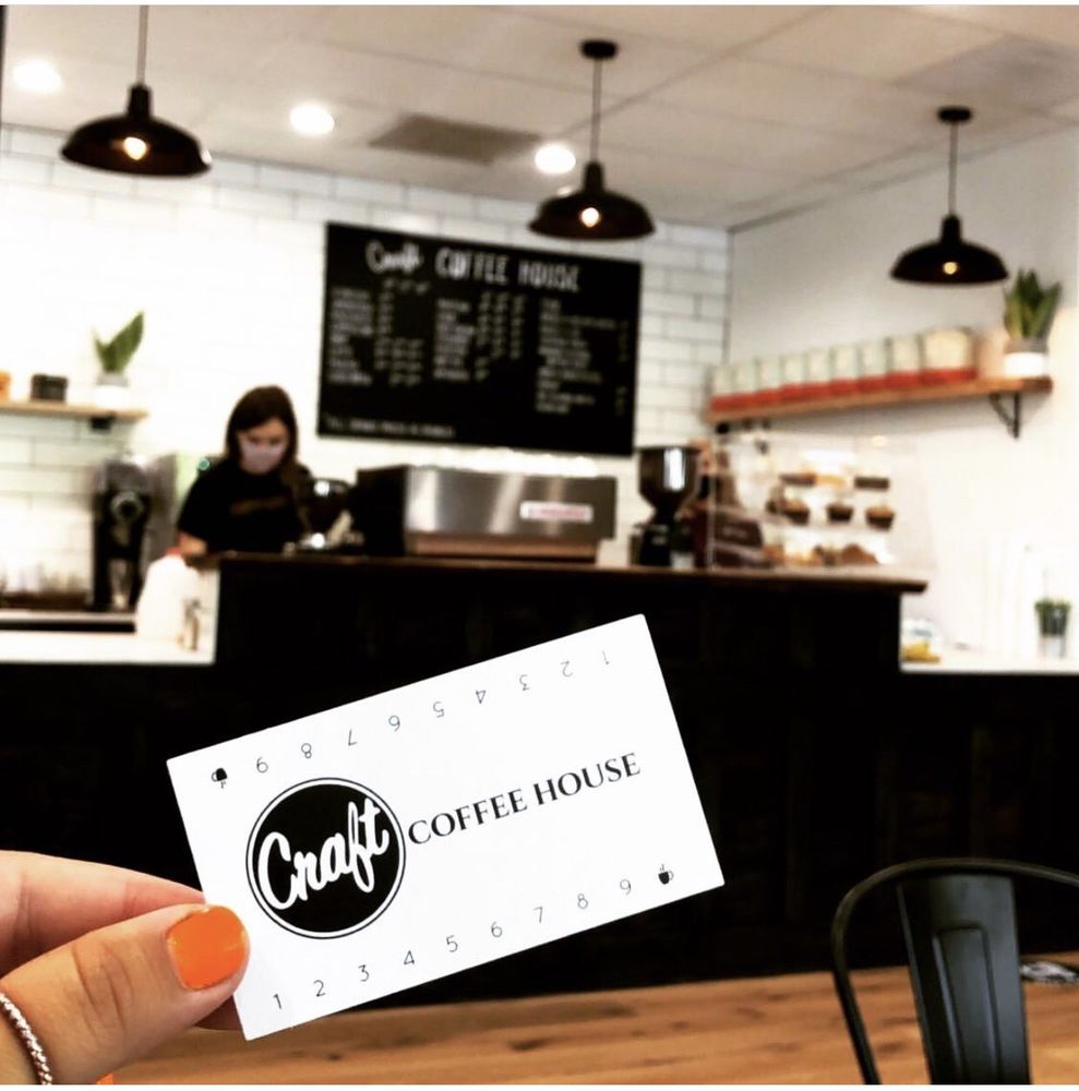 Craft Coffee House: 23424 NE Halsey St, Wood Village, OR