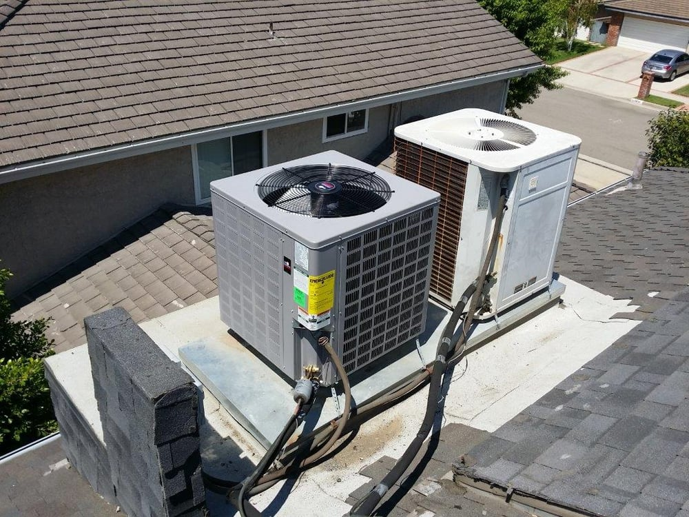 Construction Air Conditioner : Residential air conditioner replacement yelp