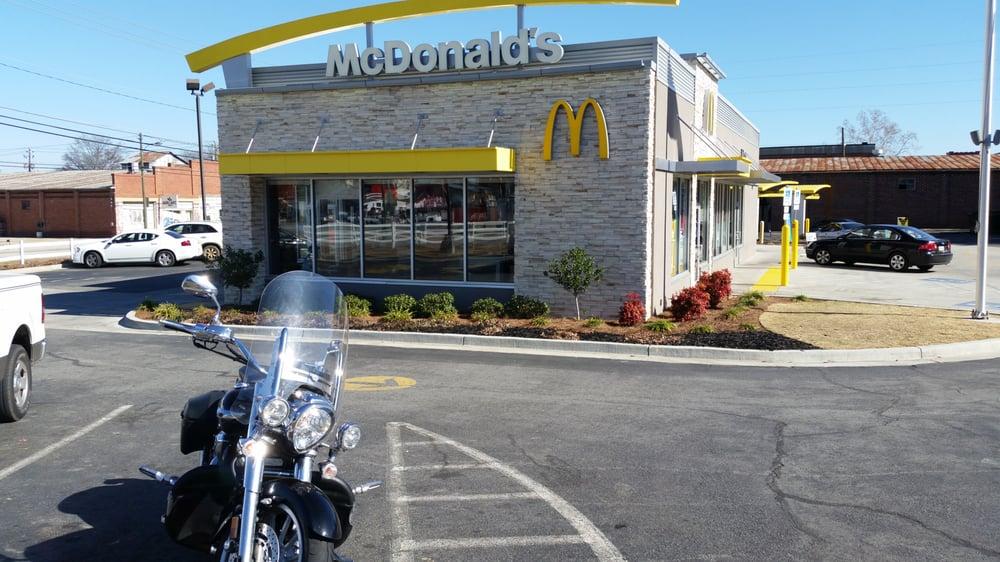 McDonald's: 204 Broad St, Hawkinsville, GA