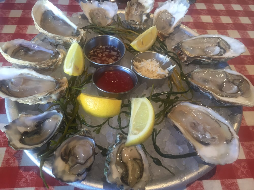 Fresh oysters yelp for Kings fish calabasas