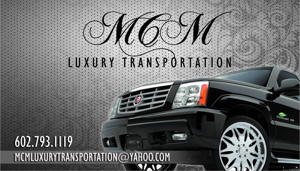 MCM Luxury Transportation: 2092 E Greenway Dr, Tempe, AZ