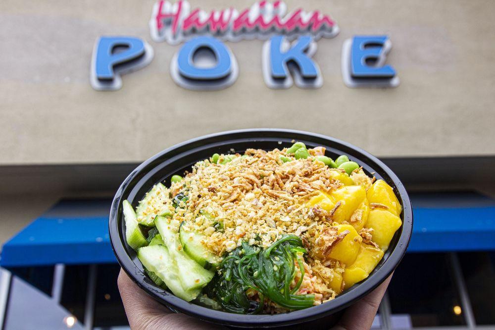 Hawaiian Poke Bowl, San Leandro