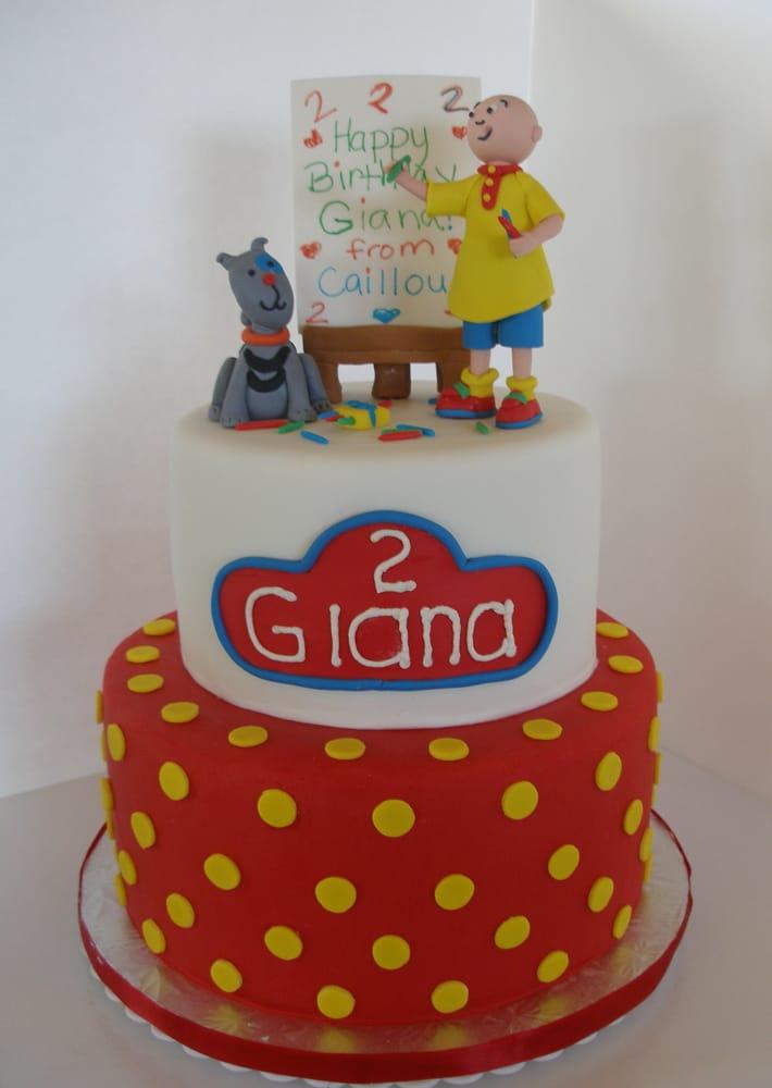 Sweet Gianas Caillou Cake Yelp