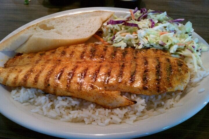 Grilled swai cajun style yelp for California fish grill