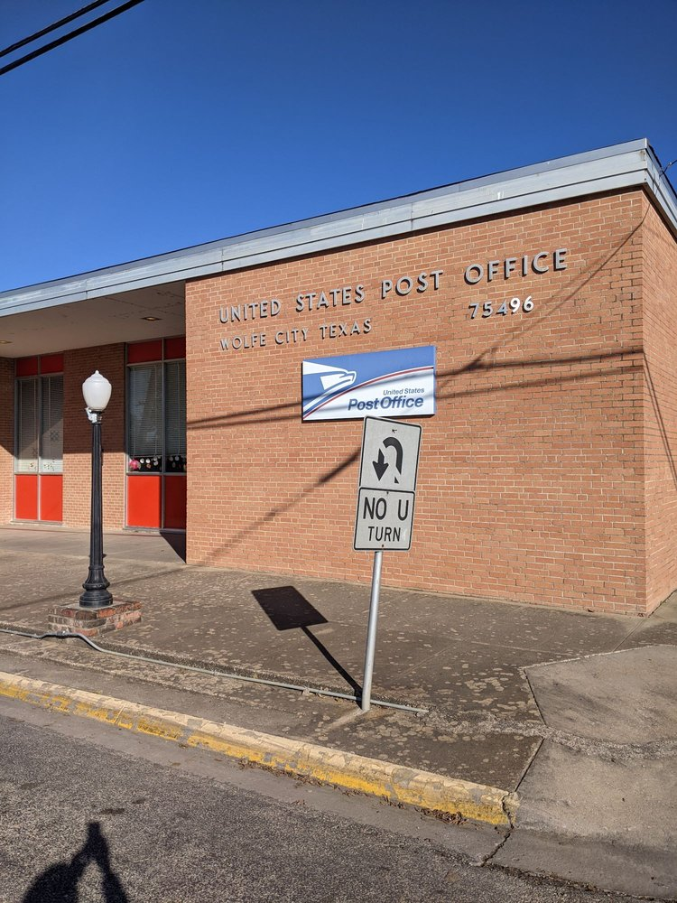 United States Post Office: 200 W Main St, Wolfe City, TX
