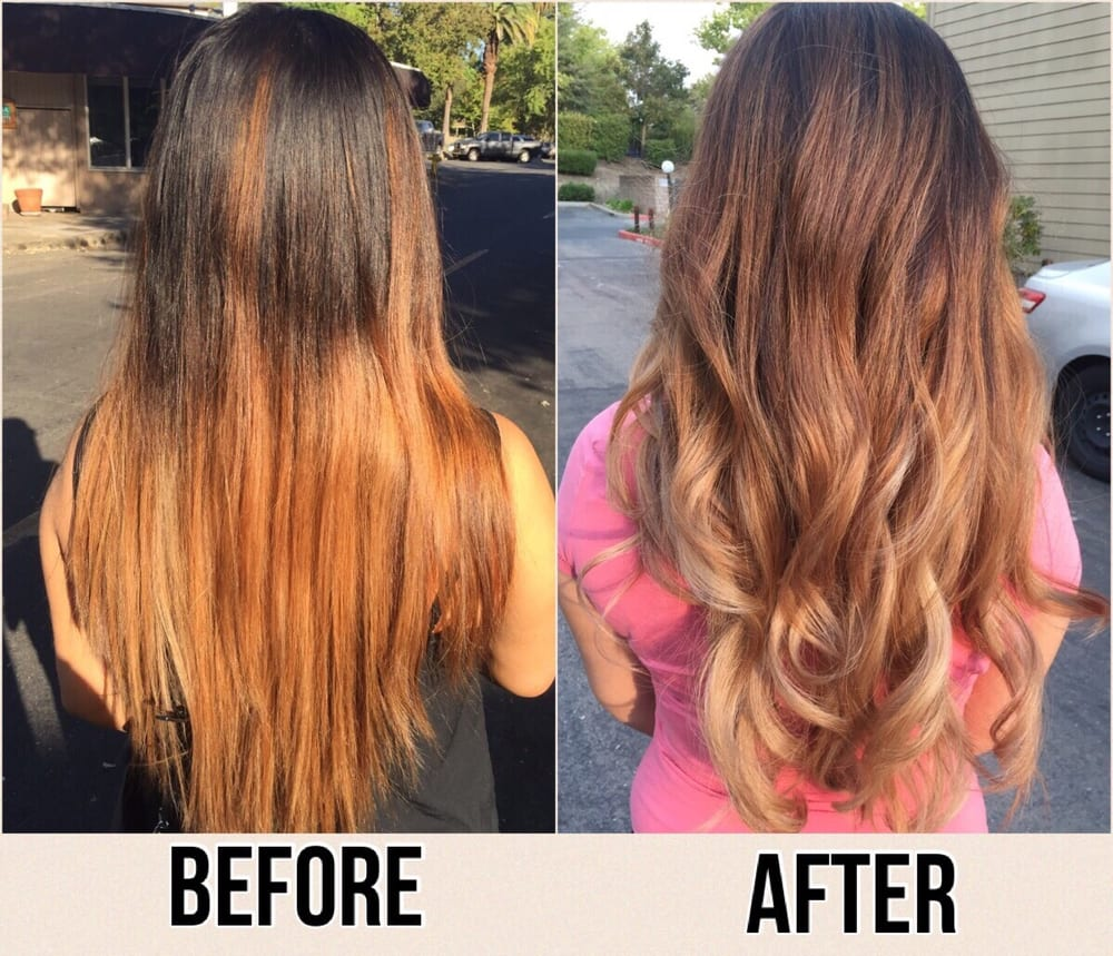 Transformation by daisy yelp for Lux salon and spa