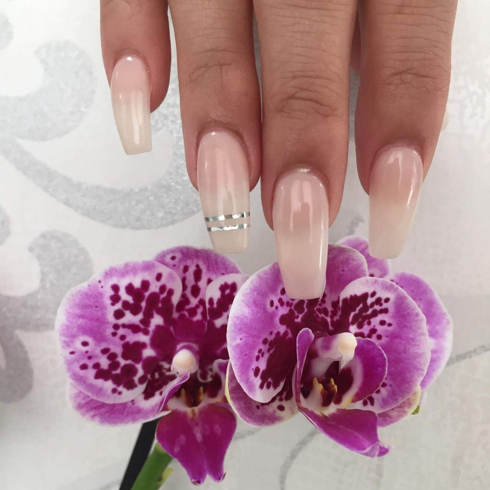 Colors That Compliment Pink shape; coffin color; perfect match gel polish in pink ribbon