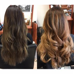 Photo of Kenny Le Salon - Vallejo, CA, United States. Brunette to caramel
