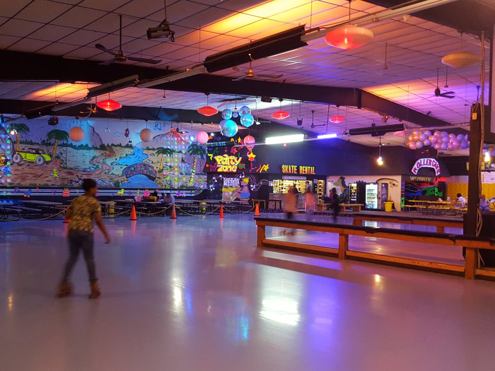 The Roller Cave: 8734 East 21st St, Indianapolis, IN