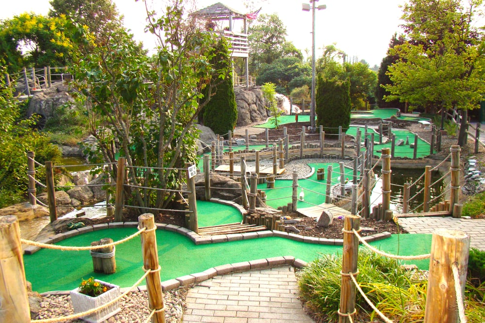 Happy Valley Minigolf: 1890 S Atherton St, Centre, PA