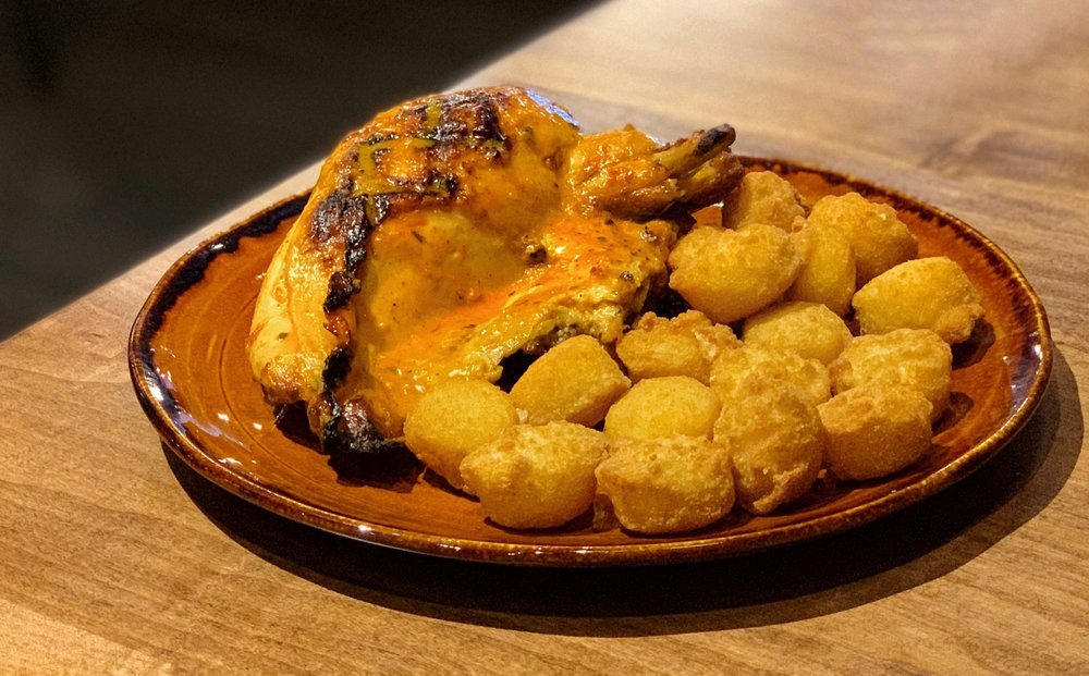 Food from Galos Flame Grilled Chicken