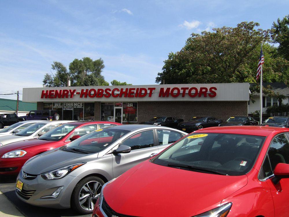 Henry Hobscheidt Motors: 213 Chicago Ave, Plattsmouth, NE