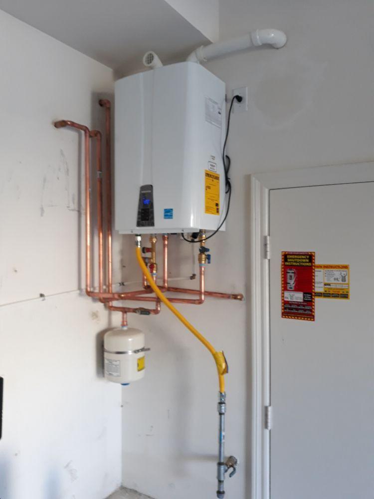 navien npe 240a tankless water heater installpromax technician