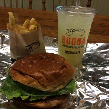 Photo Of Buona Restaurant Catering Darien Il United States Hamburger