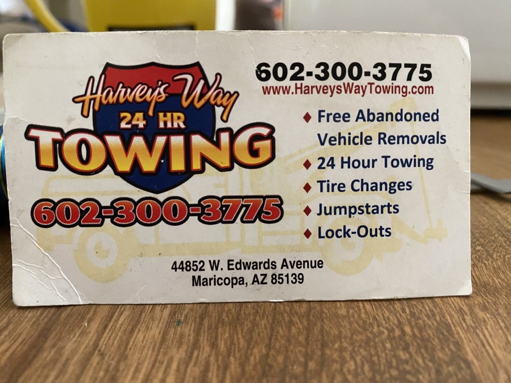 Towing business in Maricopa, AZ