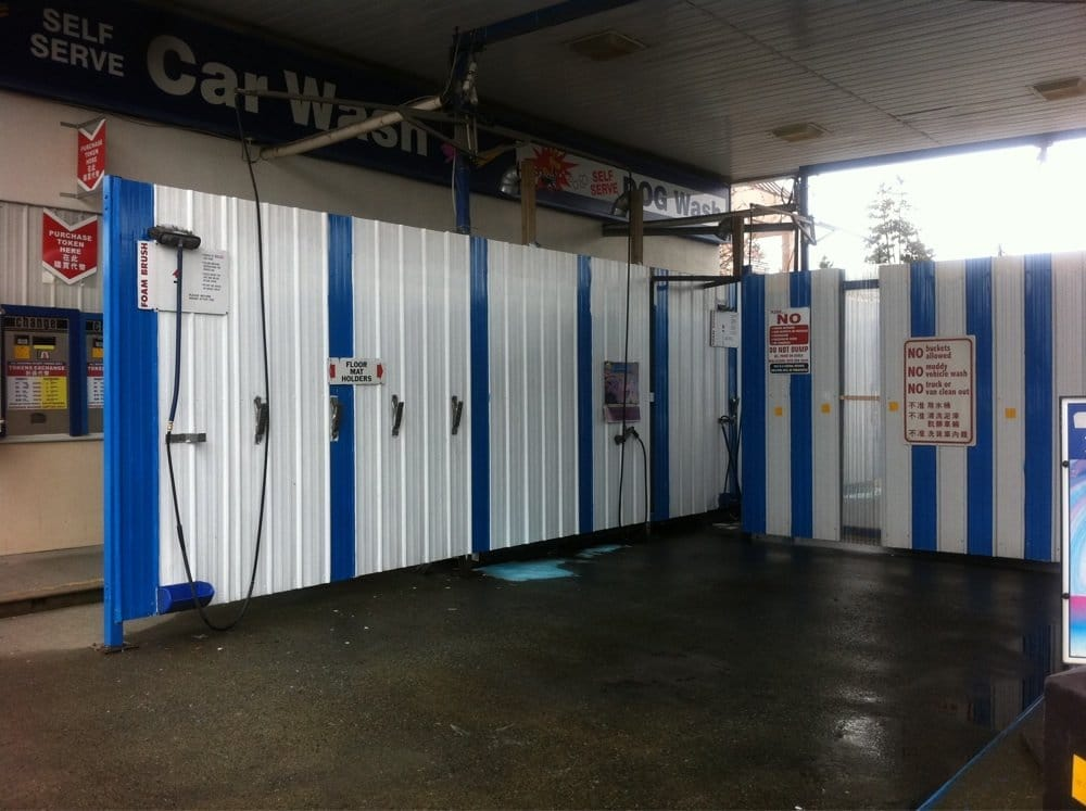One of the stalls for self car wash yelp photo of gold star car wash centre richmond bc canada one of solutioingenieria Image collections