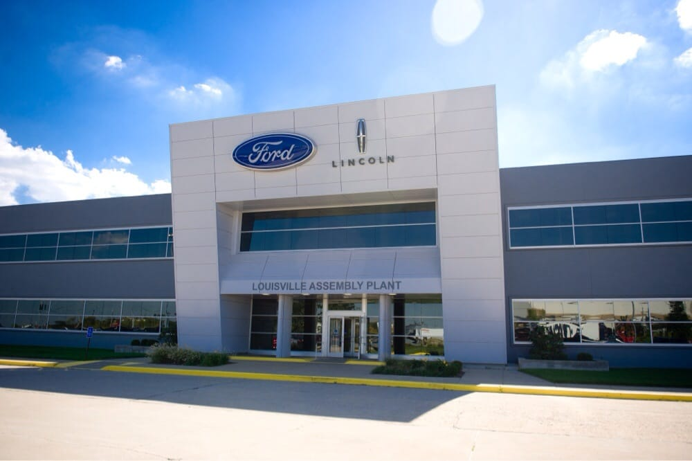 Ford motor company louisville assembly plant get quote for Ford motor company dealerships
