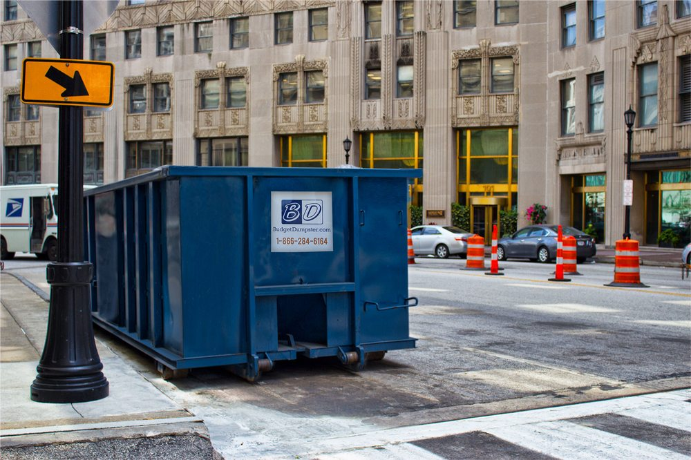 Budget Dumpster Rental: 5935 S Lee Ave, Oklahoma City, OK