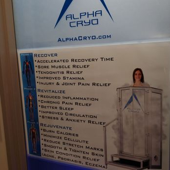 Alpha Cryo - Cryotherapy - 8206 Leesburg Pike, Vienna, VA - Phone