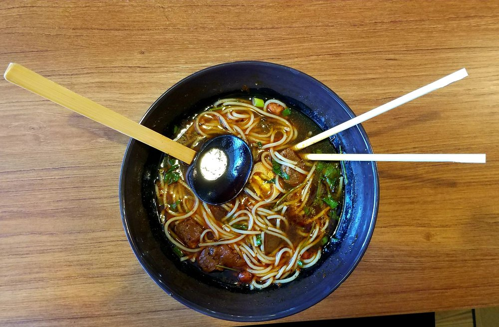 Photo of Chen's Noodle House - Tempe, AZ, United States. Spicy Beef Noodle