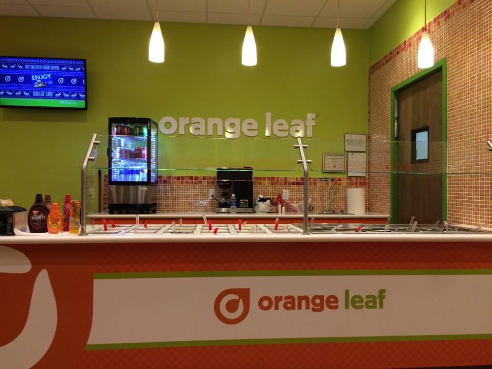 Orange Leaf Frozen Yogurt: 2714 Texas Ave, Woodward, OK