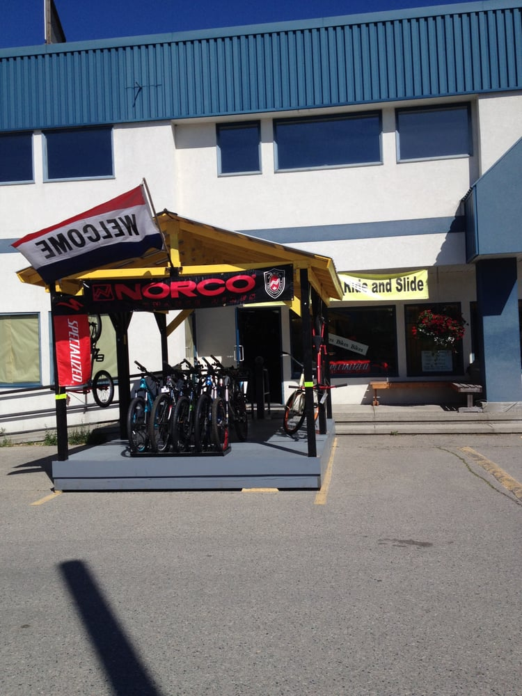 Chain Reaction Ride and Slide: 1815 A Central Avenue, Grand Forks, BC