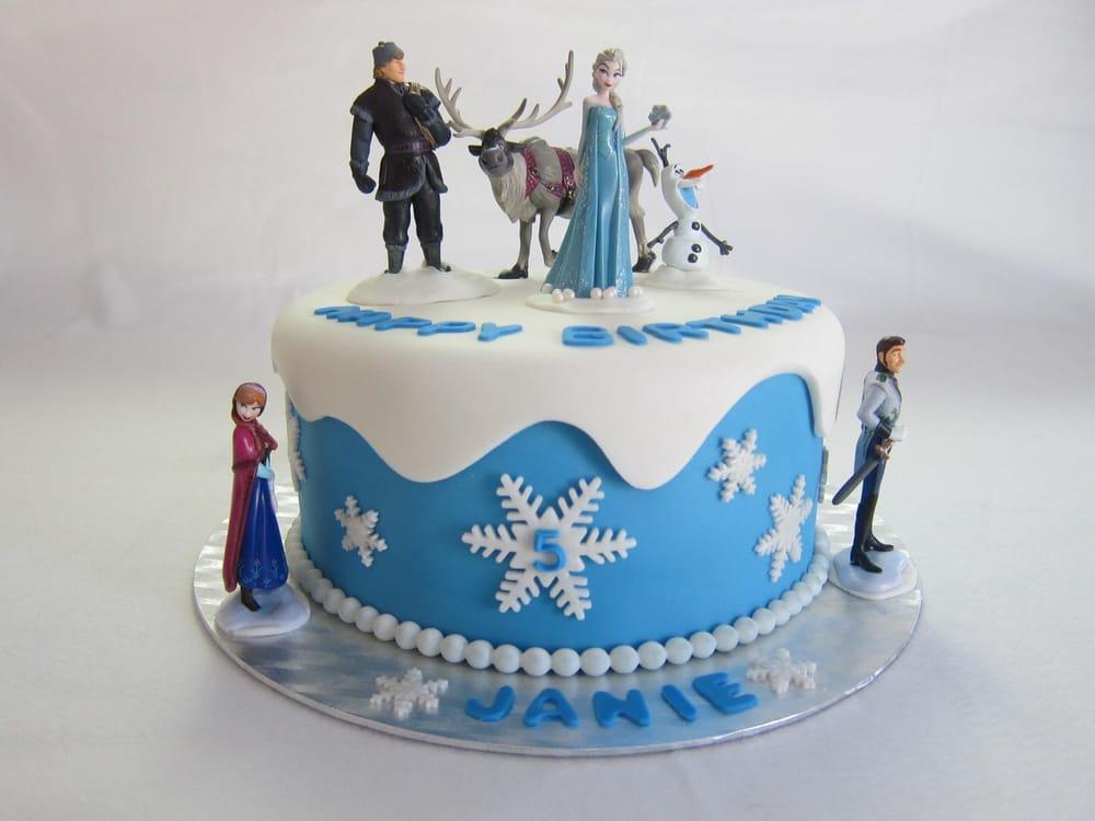 Frozen Themed Birthday Cake Yelp
