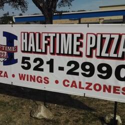 Halftime Pizza logo