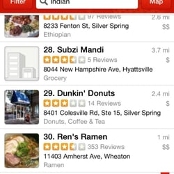 Dunkin Donuts Reviews Donuts Colesville Rd Silver - Dunkin donuts us map