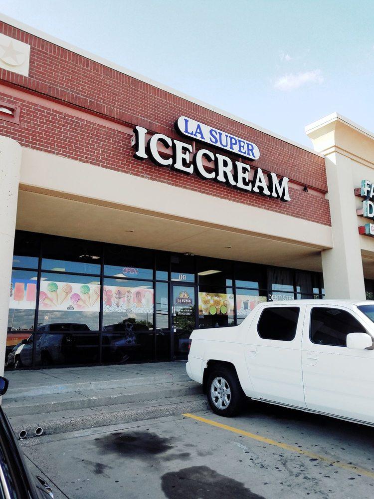 LA Super Icecream: 1201 E Parker Rd, Plano, TX