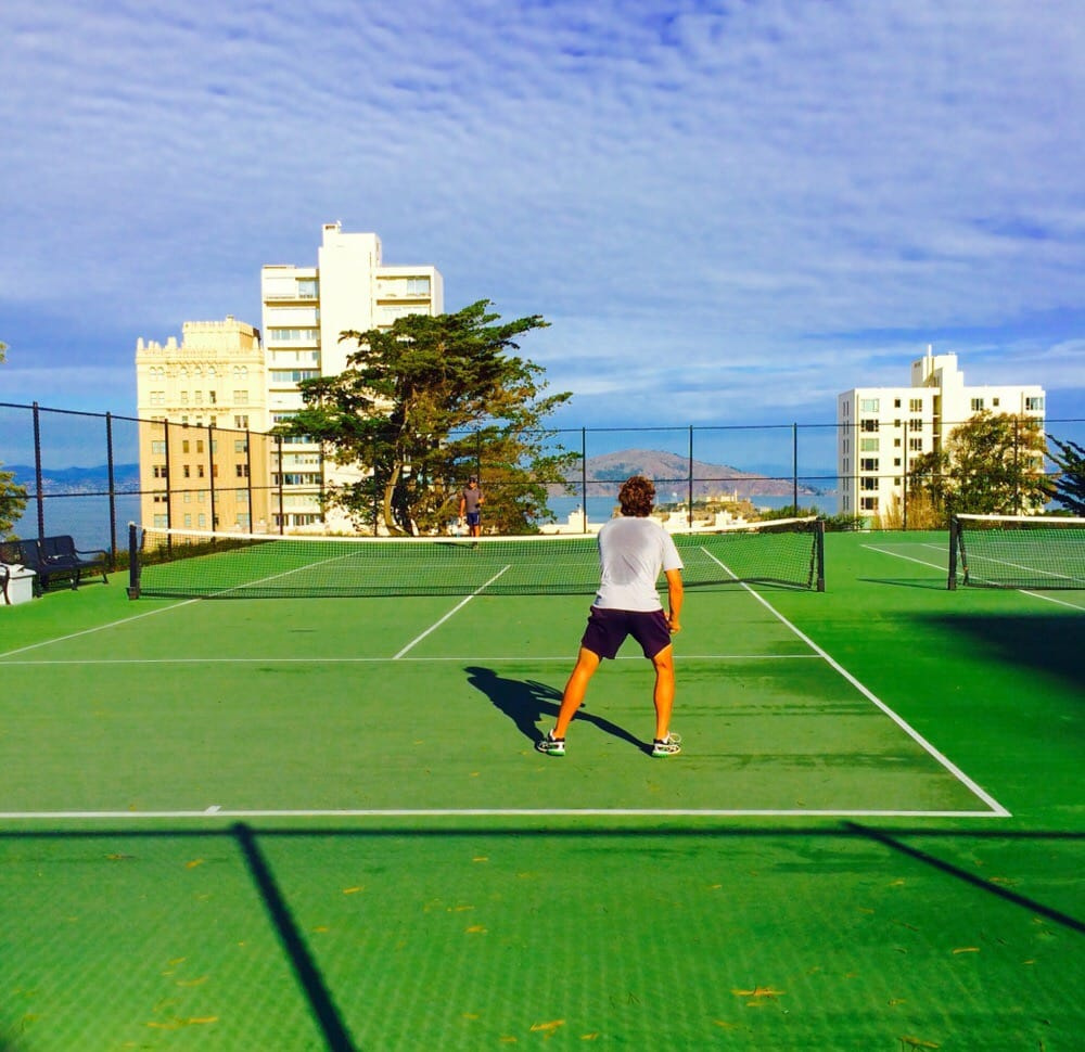 Coolest Tennis Court Ever Yelp
