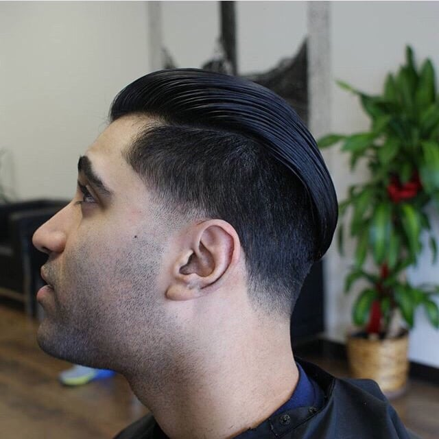 Undercut with a 4 on the sides and skin taper , Yelp