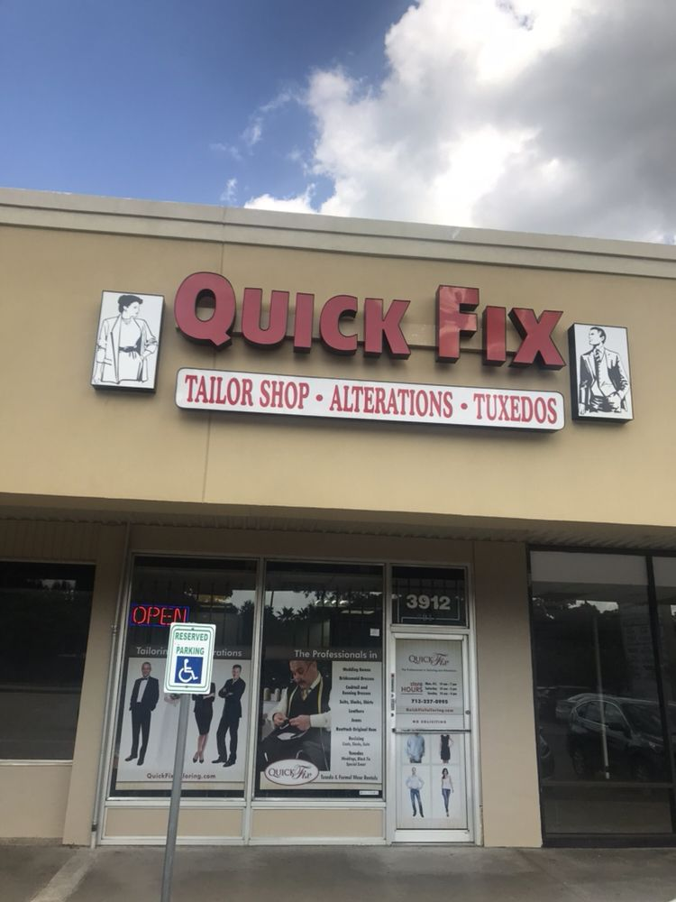Quick Fix Tailoring Alterations & Tuxedo Rentals