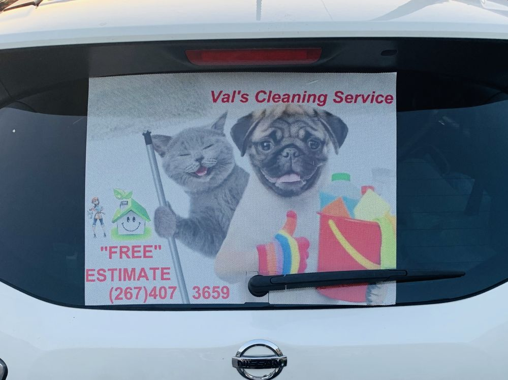 VV Val's Cleaning Service: Broomall, PA